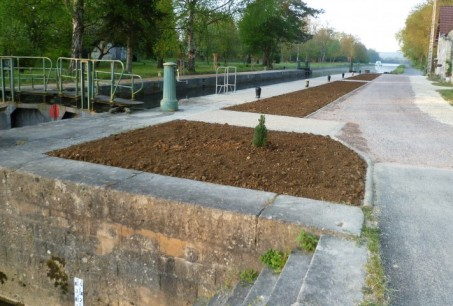 Travaux d'injection - Canal